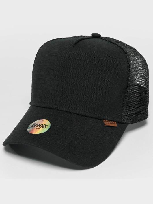 Djinns Trucker Cap M-Rib Stop High nero