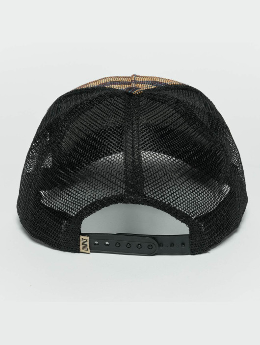 Djinns trucker cap Thaibast zwart