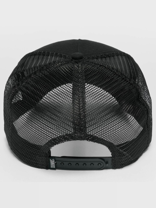 Djinns Trucker Caps M-Rib Stop High čern