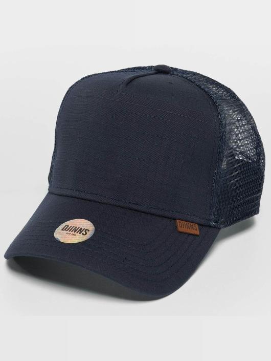 Djinns Trucker Caps M-Rib Stop High blå