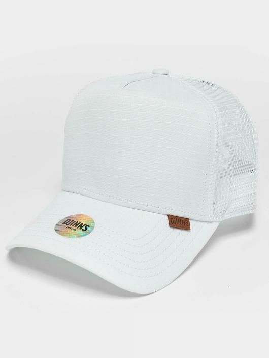 Djinns Trucker Caps M-Rib Stop High hvid
