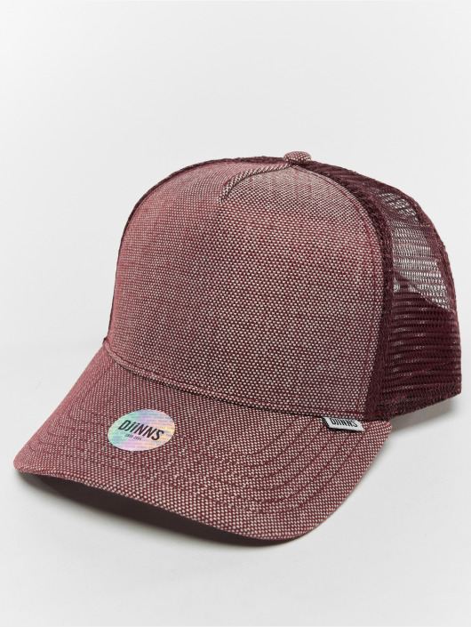 Djinns Trucker Caps Hft 2tone Oxford red