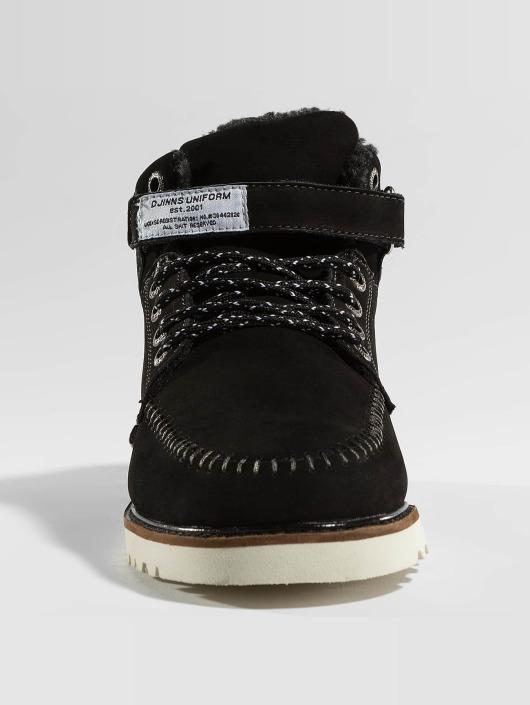Djinns Vapaa-ajan kengät Wunk Fur Deff musta
