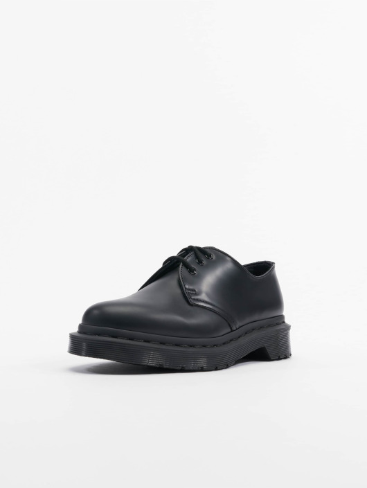 buy best free shipping size 40 Dr. Martens 1461 Mono 3-Eye Smooth Leather Low Shoes Black/Black