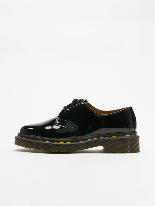3 Shoes Low Eye Leather Black Patent 1461 DrMartens hdBtsrxQC