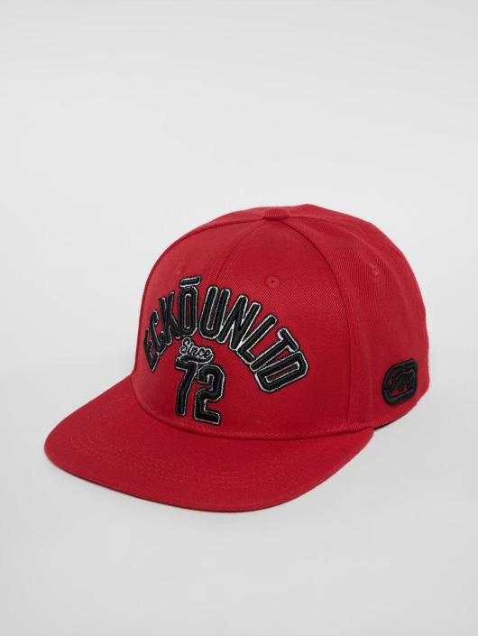 Ecko Unltd. Snapback Cap North Redondo red