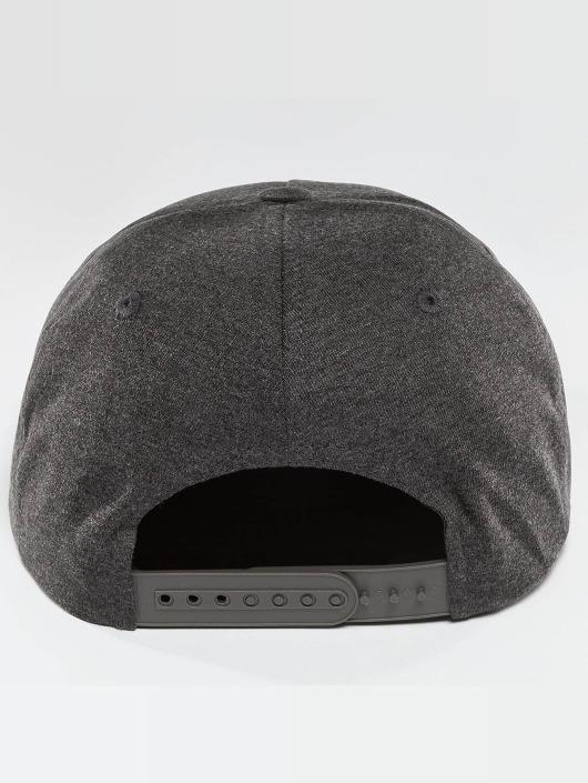 Ecko Unltd. Snapback Caps Melange College szary