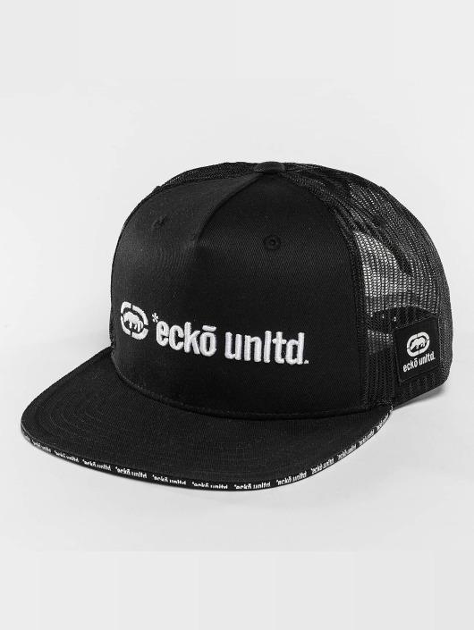 Ecko Unltd. Trucker Caps Clifton čern
