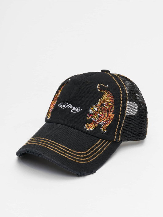 Ed Hardy Trucker Caps  svart