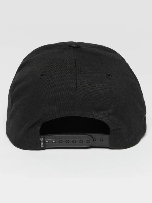 Electric Snapback Cap Volt black