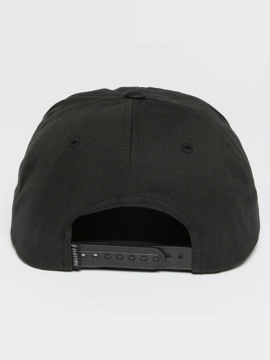 Electric snapback cap NEW UNIFORM zwart