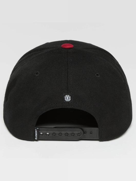 Element Snapback Caps Trekker čern