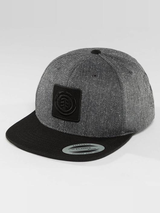 Element Snapback Caps United šedá