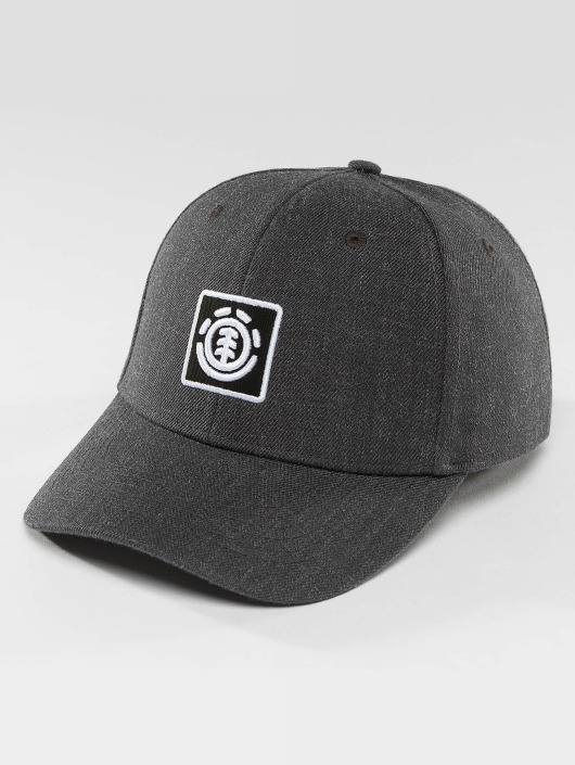 Element Snapback Caps Treelogo šedá