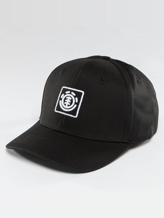 Element Snapback Caps Classic Treelogo czarny