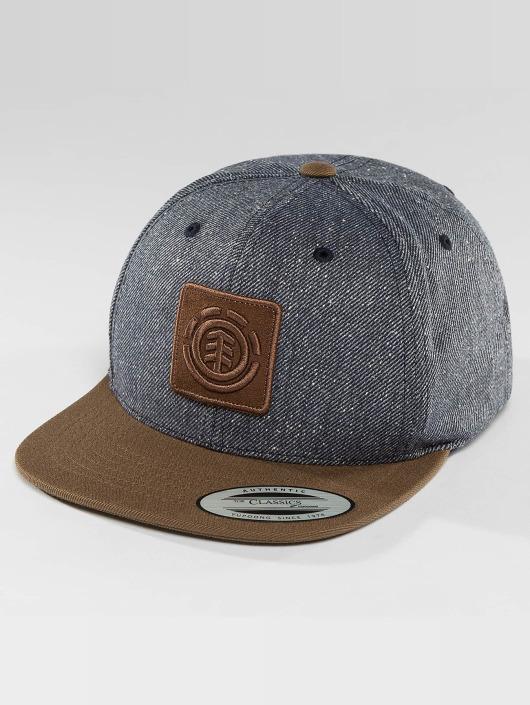 Element Snapback Caps United modrý