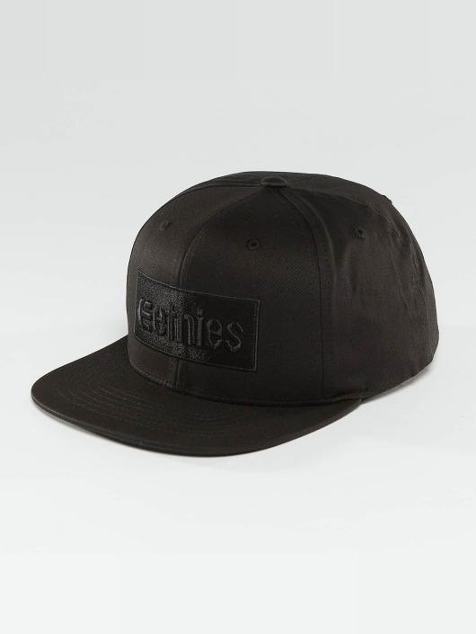 Etnies Snapback Caps Corp Box svart