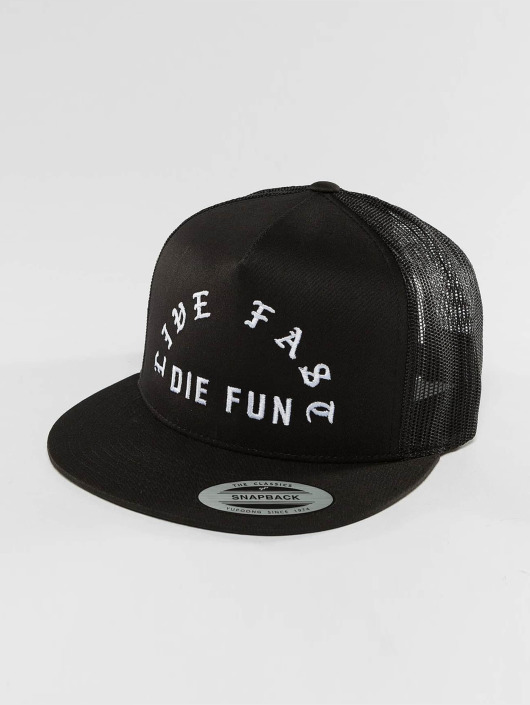 Mesh Die Trucker Fun Stars Famous 420924 Live Casquette And Noir Fast Straps Y7yvbg6f