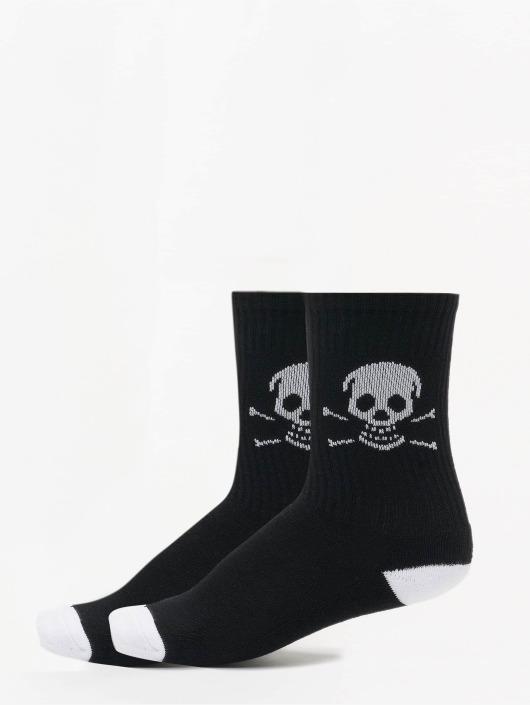 Famous Stars and Straps Socken Skull schwarz
