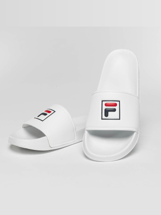 FILA Slipper/Sandaal Base Palm Beach wit
