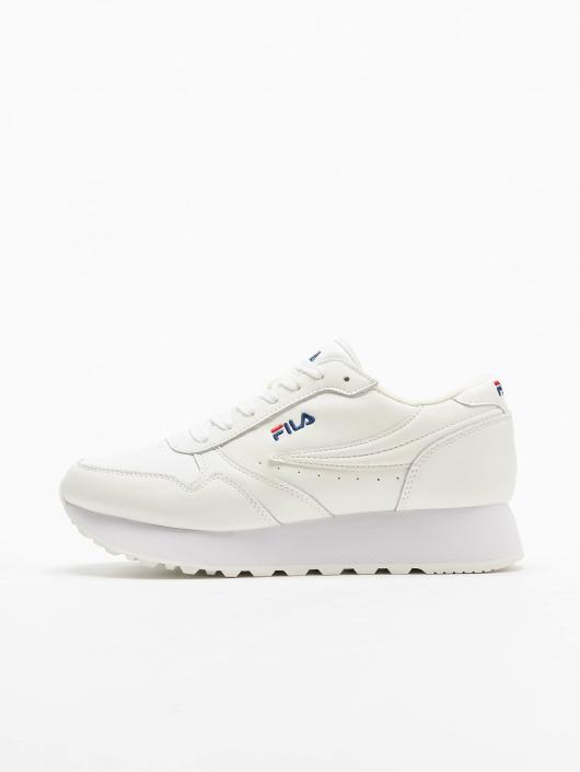 FILA Sneakers Sport Orbit Zeppa L bialy