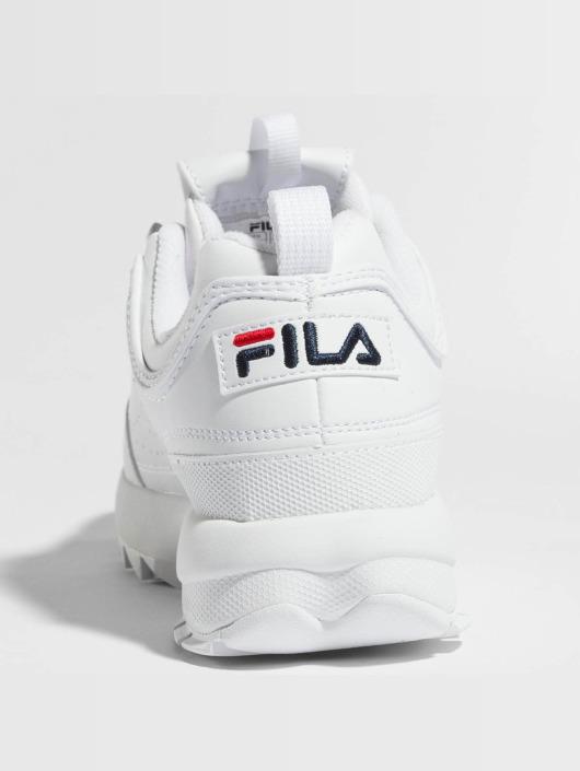FILA Sneakers Heritage Disruptor Low hvid