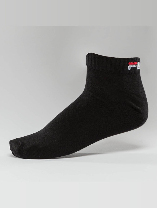FILA 3 Pack Training Socks Black