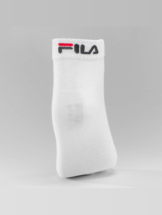 FILA 3 Pack Training Socks White