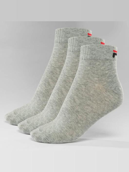 FILA Socks 3-Pack Training grey