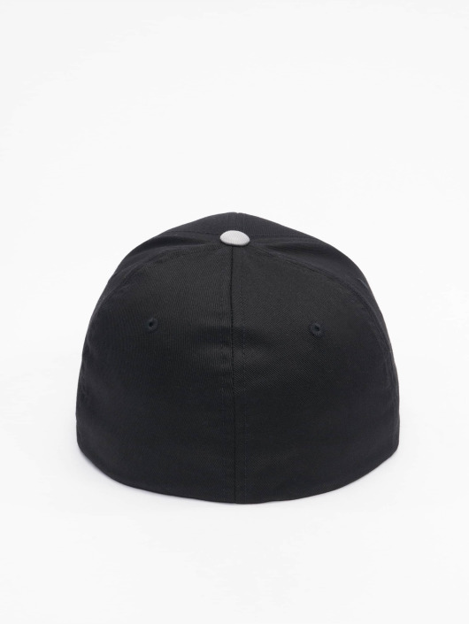 Flexfit Бейсболкa Flexfit 2-Tone Wooly Combed черный