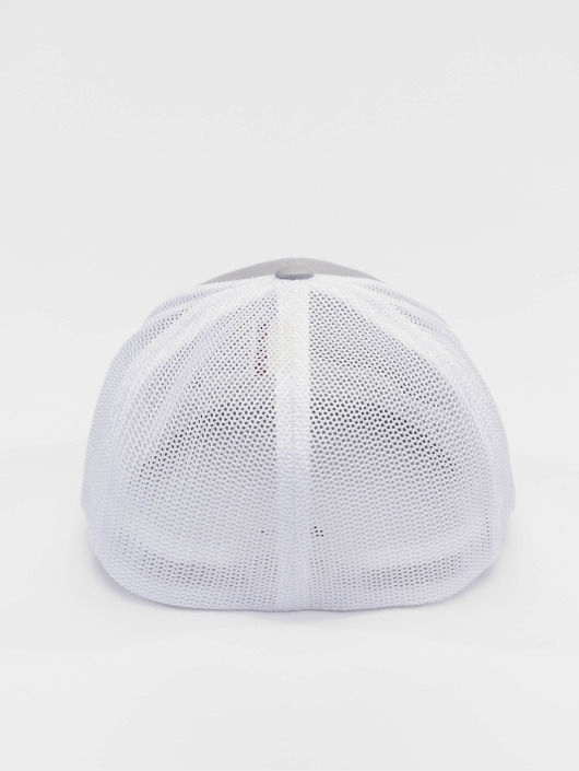 Flexfit Casquette Flex Fitted Mesh Cotton Twill argent