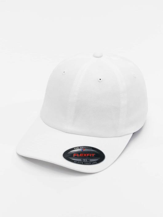 Dad 399006 Twill Cotton Casquette Flex Fitted Flexfit Blanc wPnkX08O