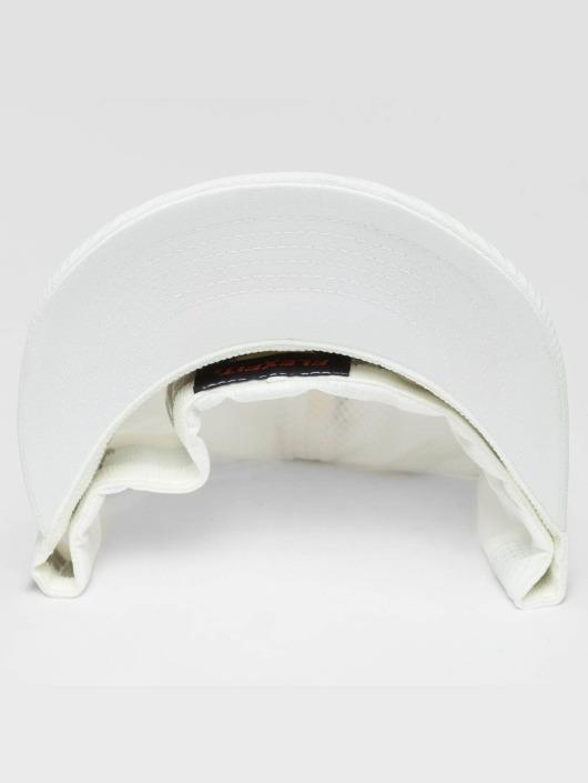 Flexfit Casquette Flex Fitted Hydro-Grid blanc