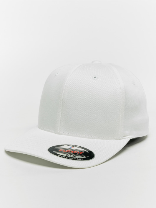 Cotton Fitted Casquette Flex Flexfit 517292 Organic Blanc zUMGqSVp