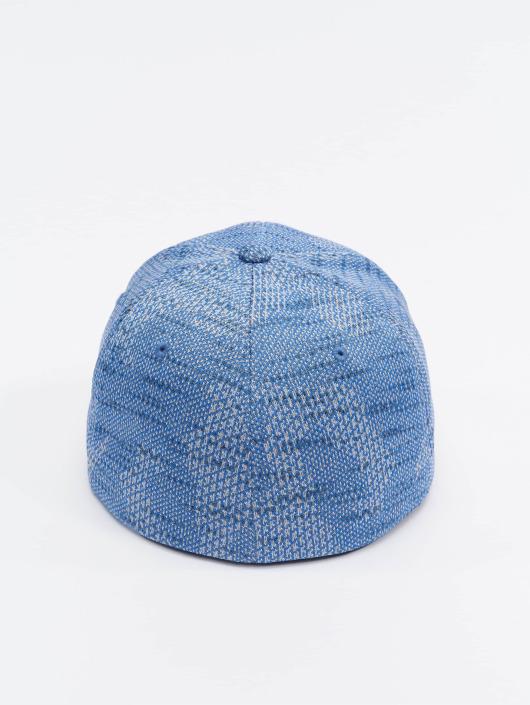 Flex Knit Fitted 304534 Jasquard Bleu Flexfit Casquette KcTJl1F3