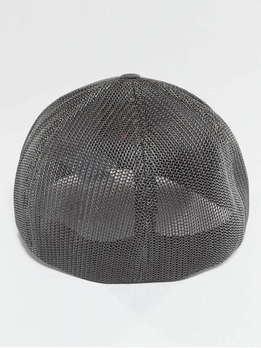 Flexfit Casquette Flex Fitted Mesh Cotton Twill gris