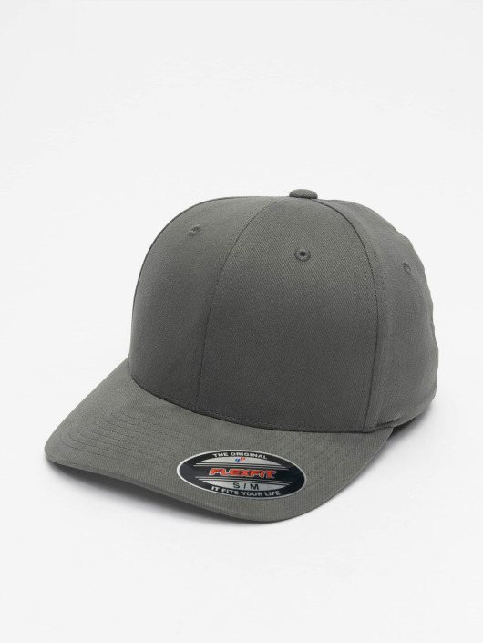 Casquette Twill 477369 Gris Fitted Brushed Flex Flexfit tdorxQsBhC