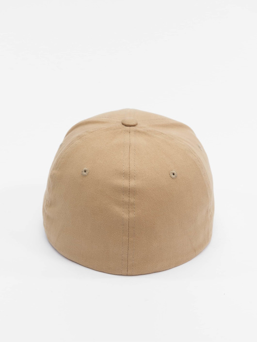Fitted Casquette Kaki Twill Brushed Flex Flexfit 477382 g76ybfvY