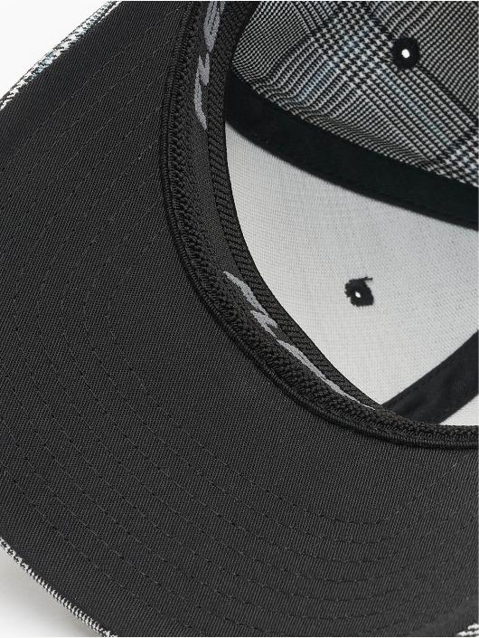 Flexfit Casquette Flex Fitted Glen Check noir