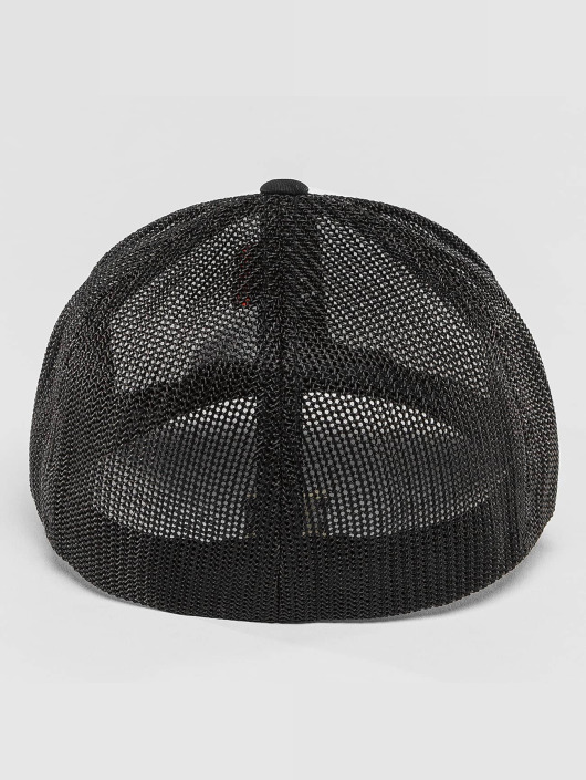 Flexfit Casquette Flex Fitted Mesh Colored noir
