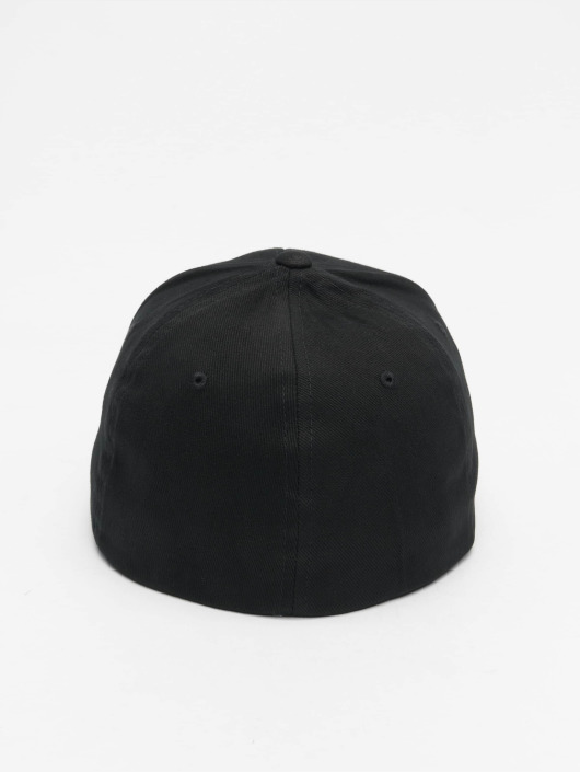 Flex Casquette Flexfit Brushed 477371 Fitted Twill Noir qSVGzMUp
