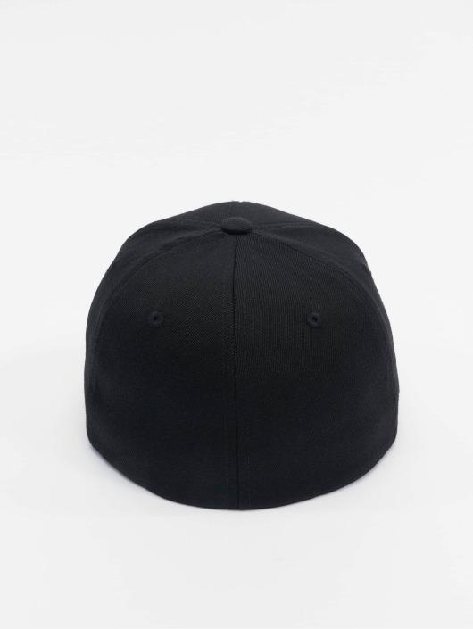 Casquette Noir Fitted Flexfit Flex Wool Blend 478142 fgYy6vb7