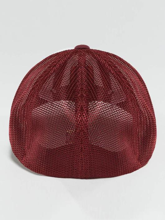 Flexfit Casquette Flex Fitted Mesh Colored Front rouge