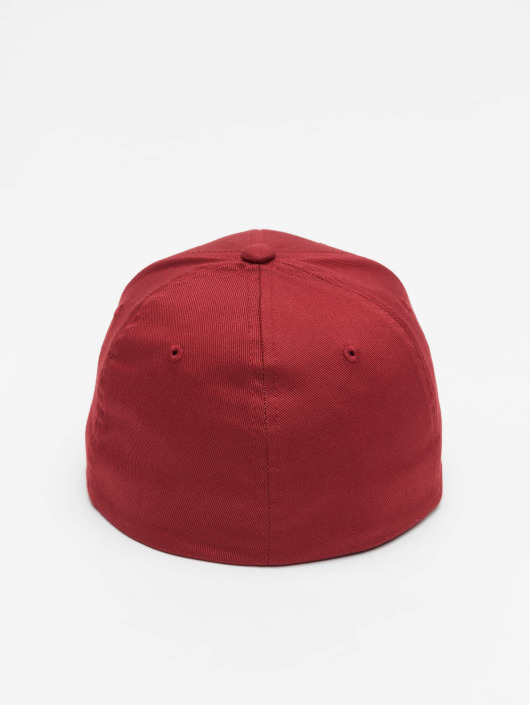 Fitted Flexfit Casquette Flex Wooly Combed Rouge 477322 dCBorex