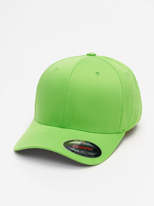 Casquette Vert Wooly 128645 Flexfit Flex Fitted Combed TF1ulKJc3