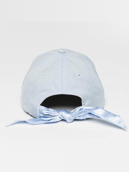 477308 Casquette Satin Dad Snapbackamp; Flexfit Bow Bleu Strapback XZiuPOk