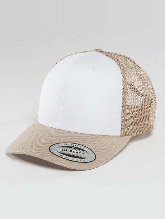 Flexfit Casquette Trucker mesh Retro Colored Front beige