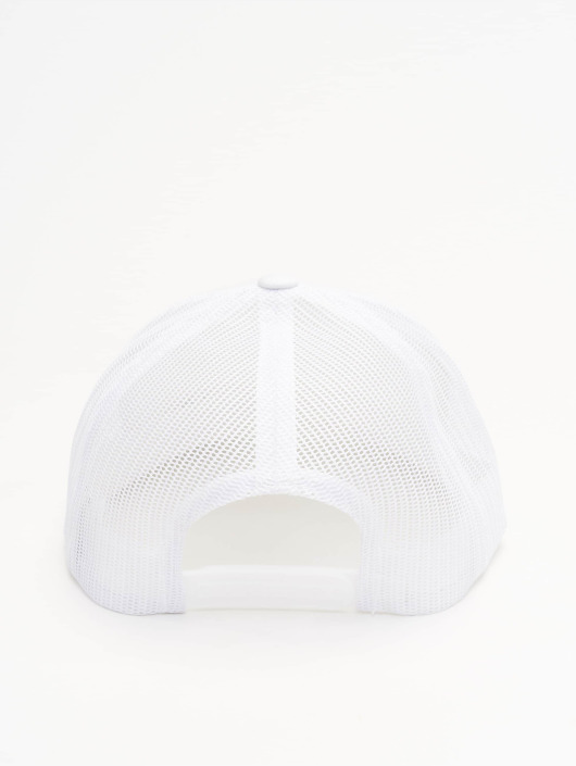 Flexfit Casquette Trucker mesh Retro blanc