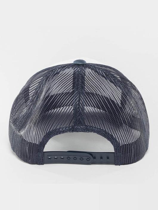 Flexfit Casquette Trucker mesh Retro Colored Front bleu