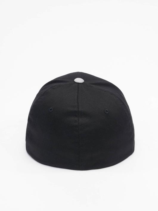 Flexfit Flex fit keps 2-Tone Wooly Combed svart